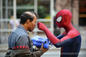 Spiderman and Max Dillon